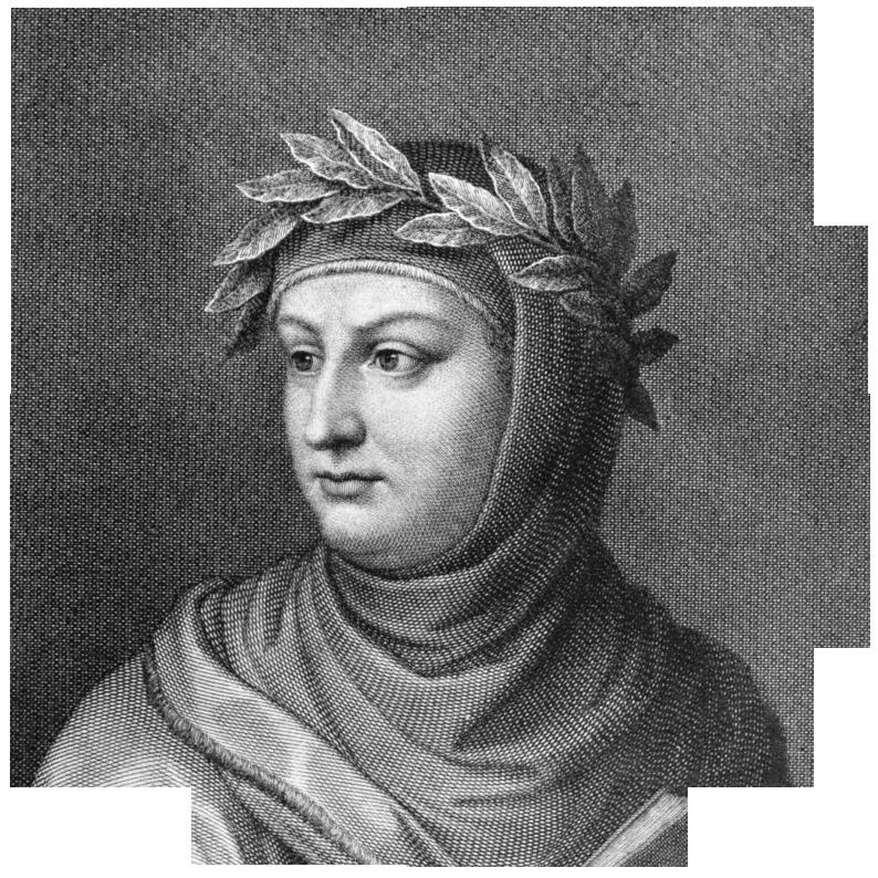Portret van Giovanni Boccaccio (1313–1375) door Raffaello Sanzio Morghen (1758-1833) naar een afbeelding door Vincenzo Gozzini. Het portret werd in 1822 gemaakt. Bron: https://commons.wikimedia.org/wiki/File:Boccaccio_by_Morghen.jpg