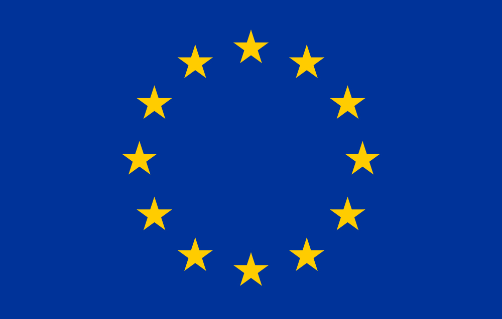 De vlag van de Europese Unie