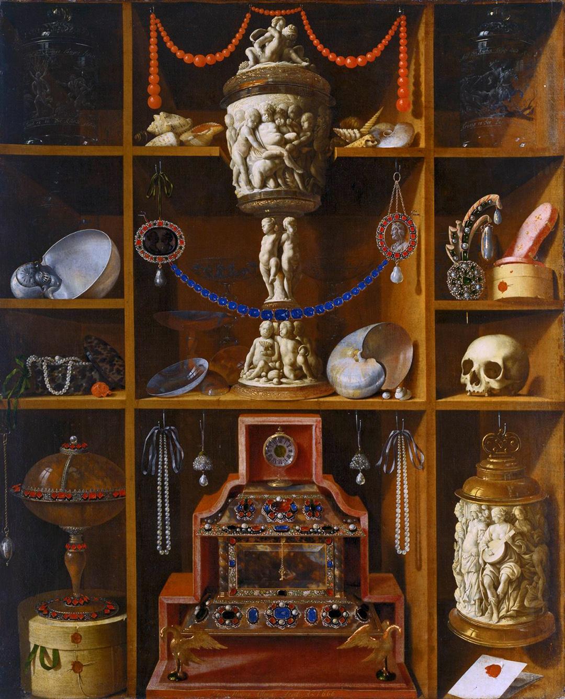 Rariteitenkabinet (1666 - door Johann Georg Hinz) © Hamburger Kunsthalle