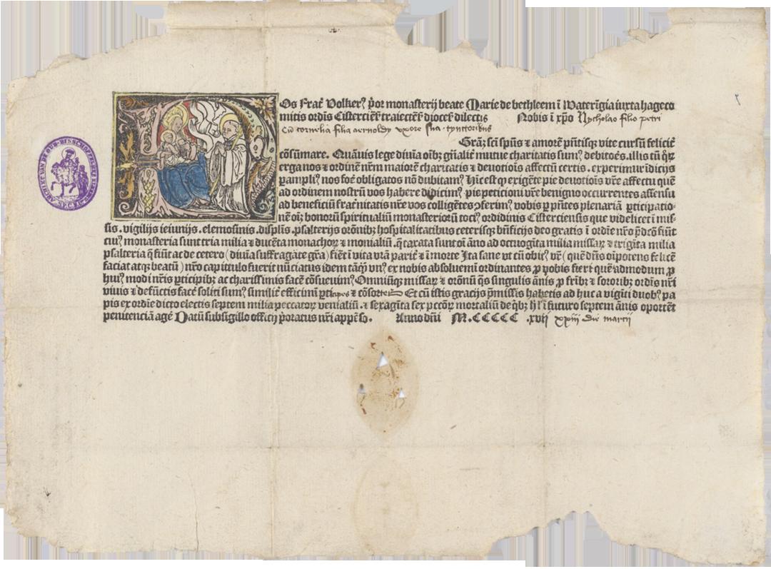 Aflaat (1517) - Bron: Nationaal Archief Nederland