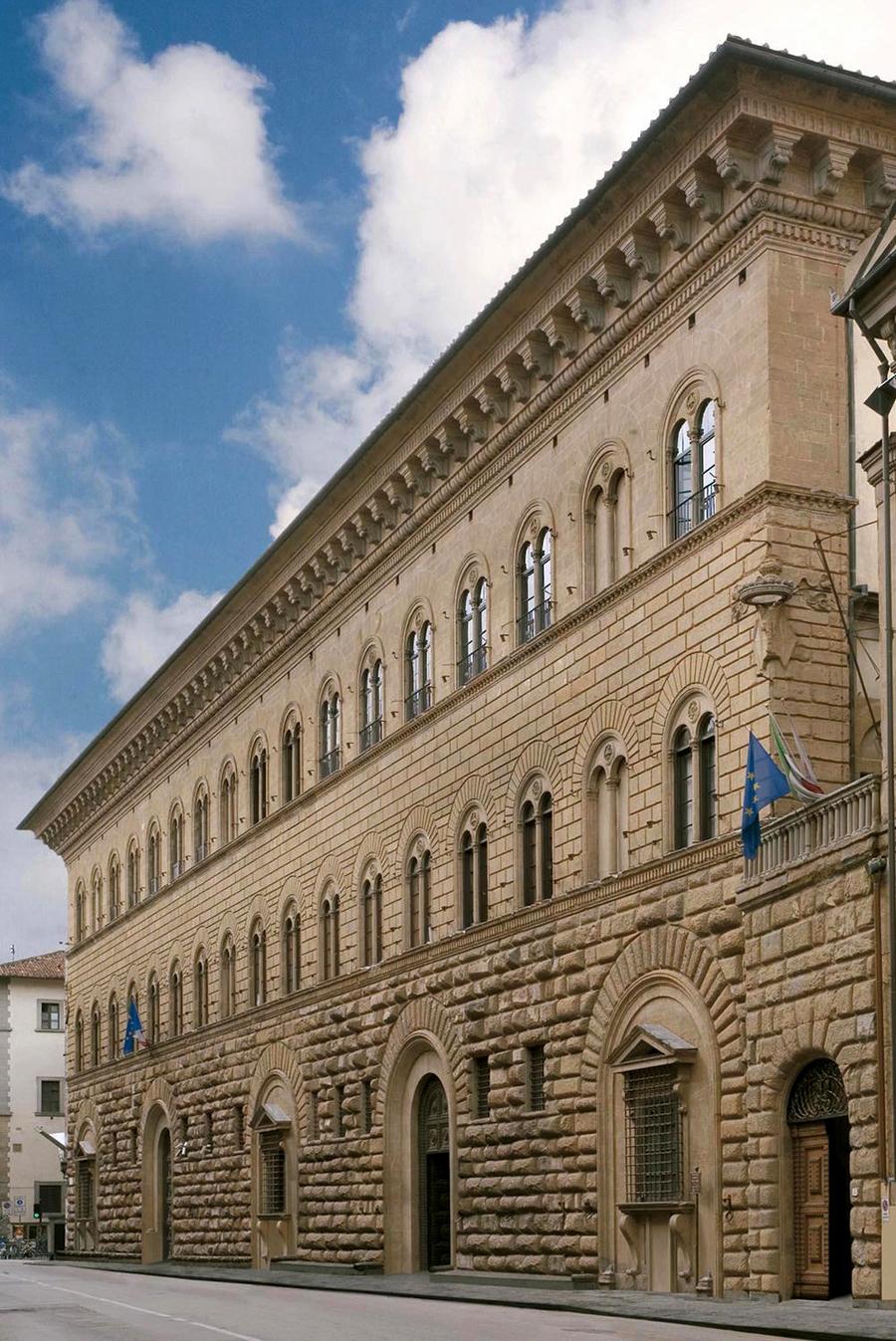 Palazzo Medici-Riccardi door Michelozzo (Firenze)