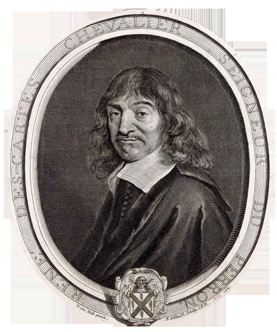 René Descartes (tekening ca. 1640), ETH-Bibliothek, Zurich