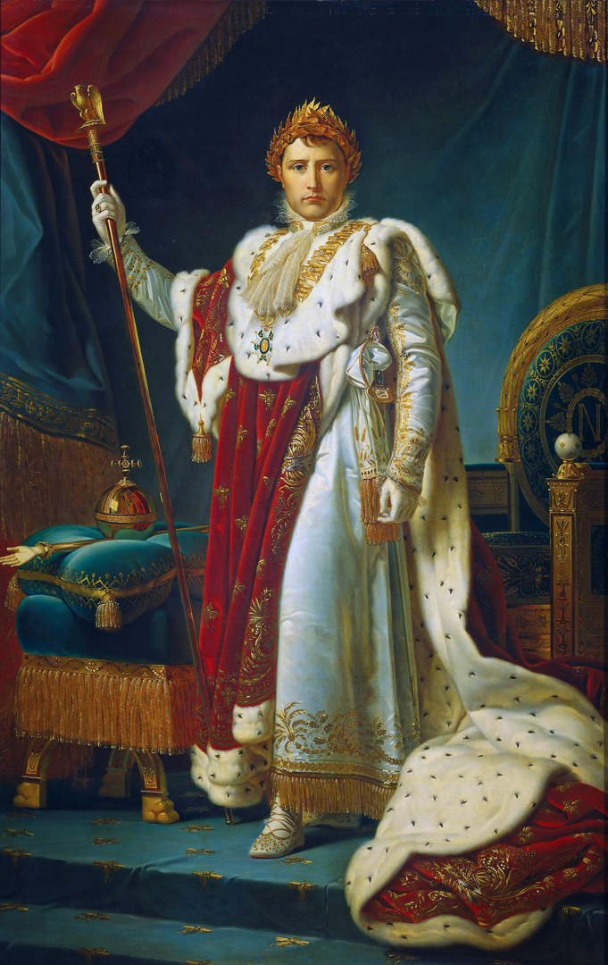 Portret van keizer Napoleon I door het atelier van François Gérard (begin 19de eeuw), Rijksmuseum Amsterdam